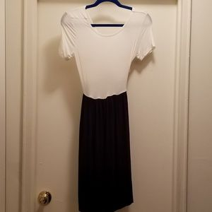 NWT OPEN CROSSBACK  DRESS SZ. 10
